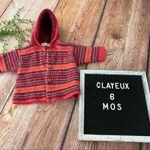 Clayeux French Baby Sweater 6 months
